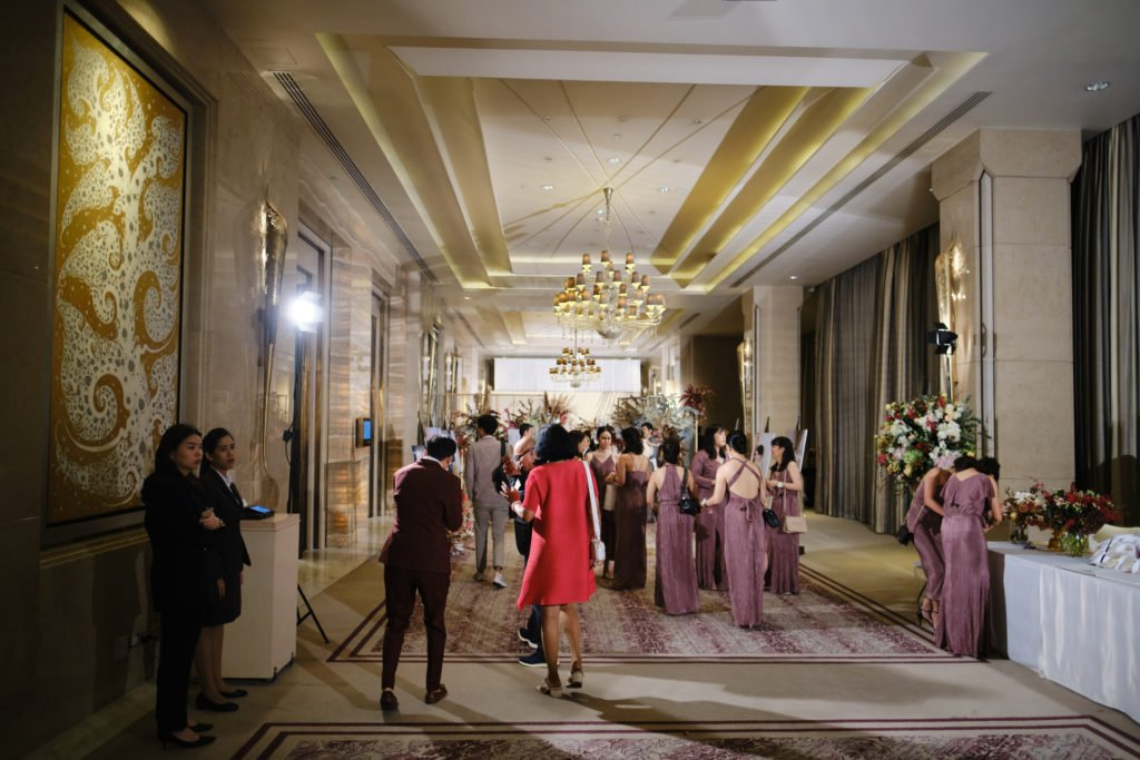 Siam Kempinski Bangkok Wedding FonNut_85