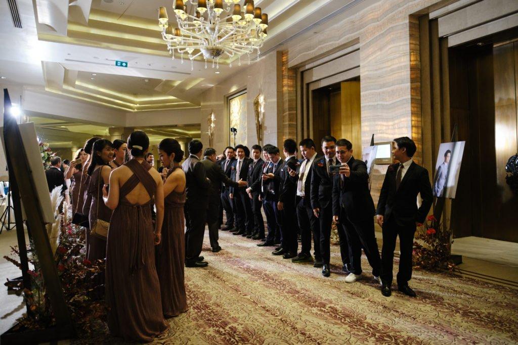 Siam Kempinski Bangkok Wedding FonNut_89